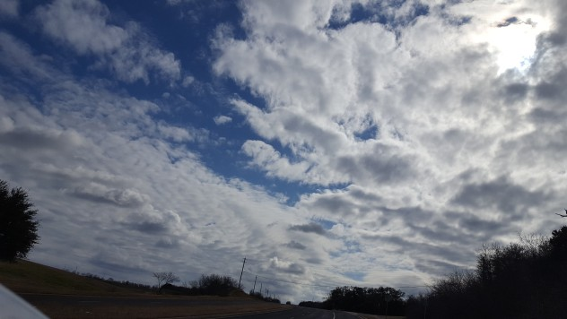 January Texas sky, Pamela Bunn
