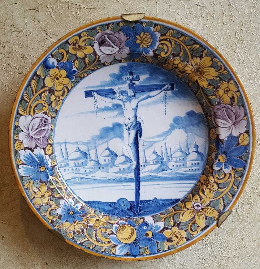 Crucifixion, 18th century Delft