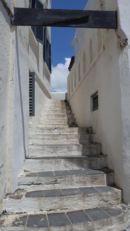 Cape Coast, Ghana, stairway to sky 10-16