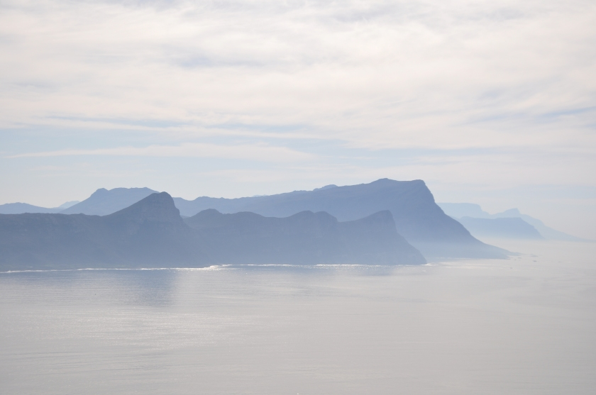Grenadine Islands, mist, island layers