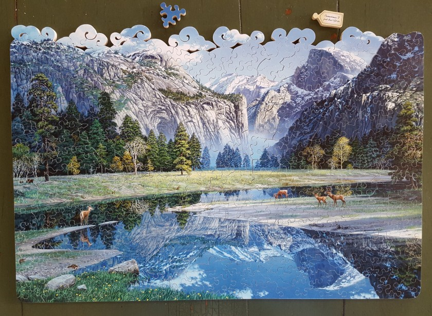 Puzzle: Stave's Yosemite Spring