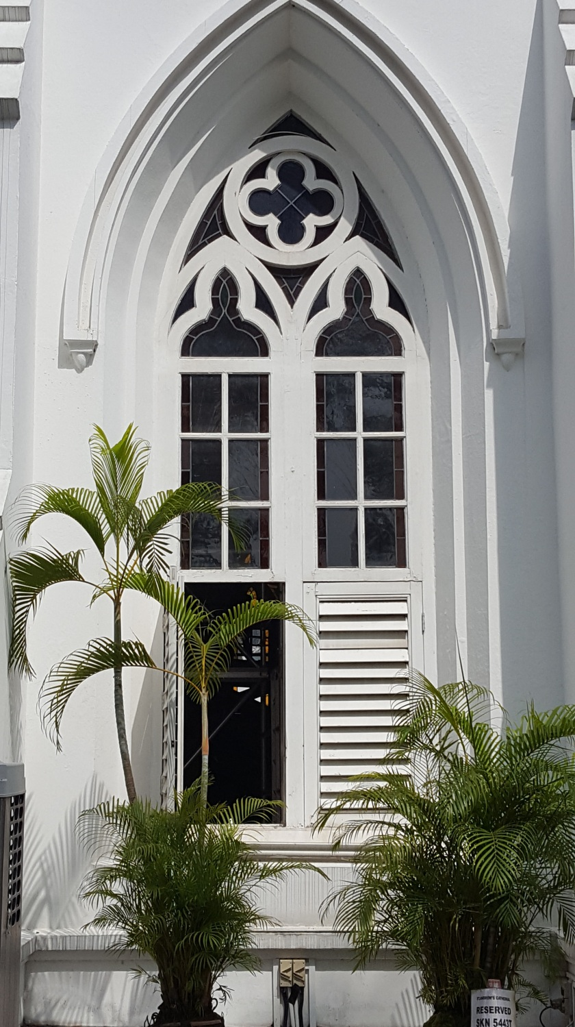 SIngapore church, open window