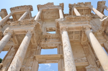Turkey, library at Ephesus
