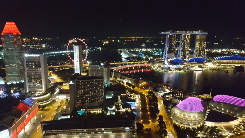 Singapore at night 5