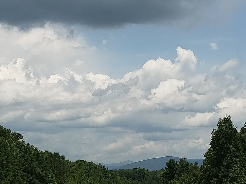 Blue Ridge sky
