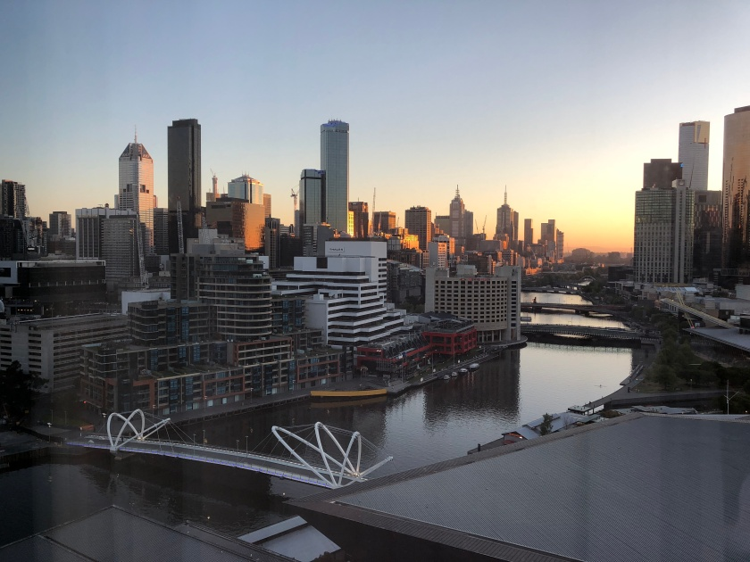 Dawn in Melbourne, Australia