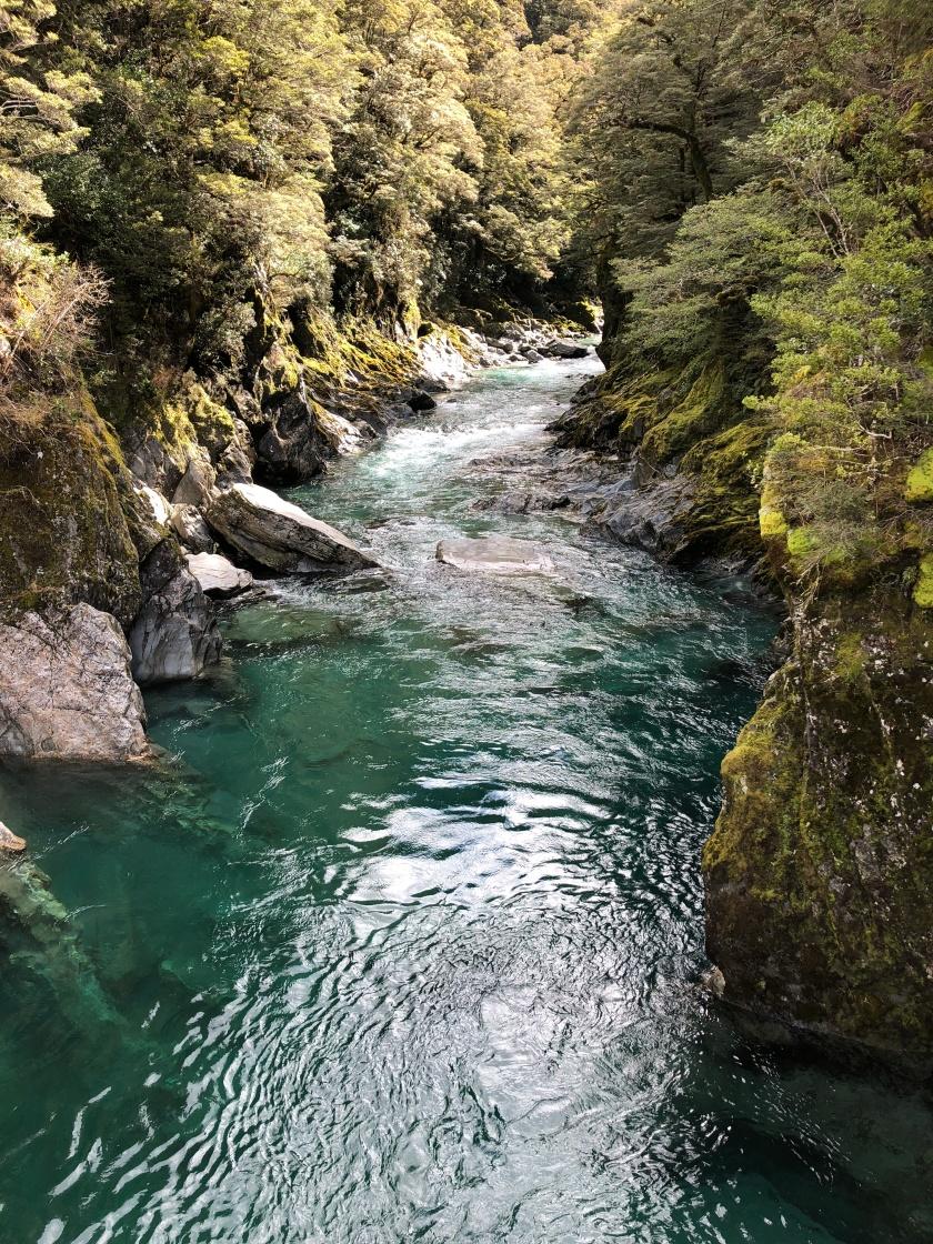 River, Blue Pools, Mt Aspiring Natl Park, NZ