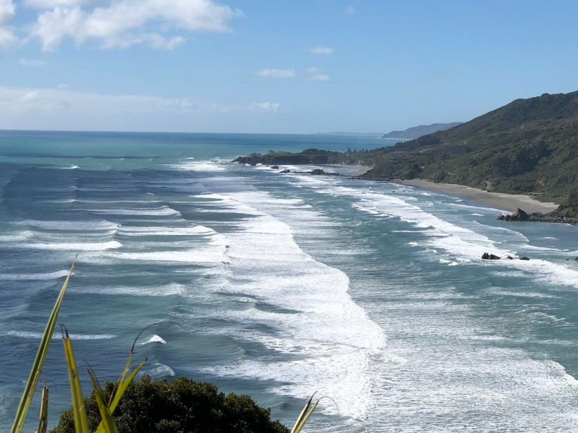 Waves, New Zealand coast