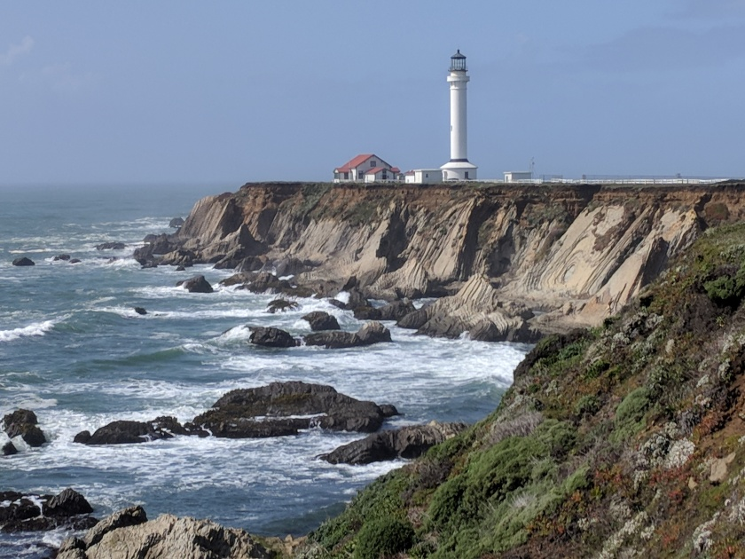 Lighthouse, California coast 3
