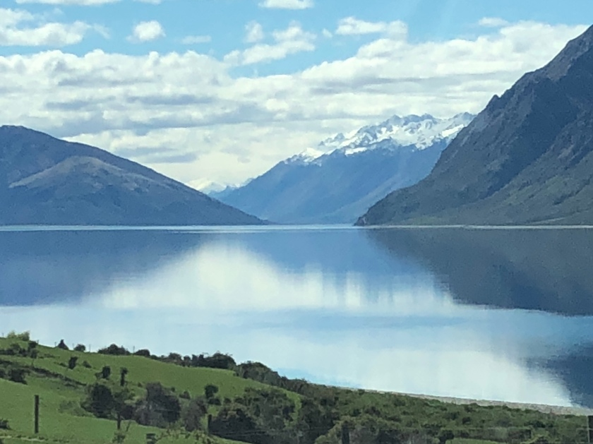 Mountain lake, Otago, NZ