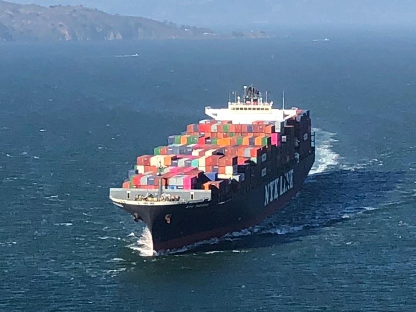 Cargo Ship 2, San Francisco Bay