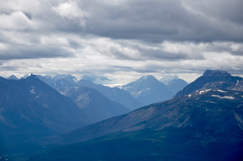 Canadian Rockies w distant mts 3