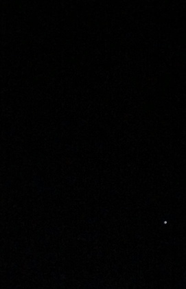Predawn w planet and stars